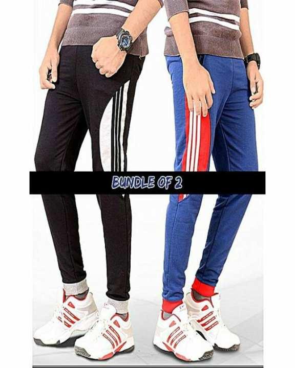 Bundle Of 2 Three Stripe Trousers