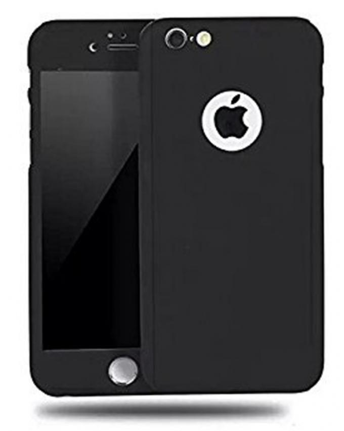 Full 360 Protection Case For Iphone 5, 5S & SE - Black