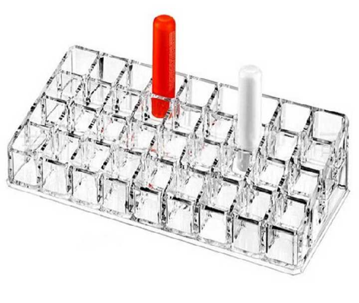 Lipsticks Organizer - 36 Holes - WonderMatics 2404WMACTLCSHQ