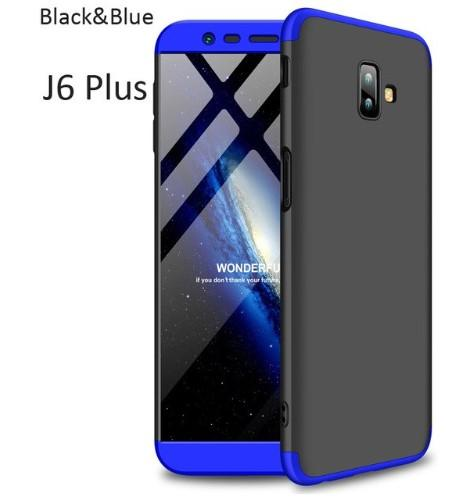 separation shoes aa54c 658fa Gkk 3in1 360 Degree Protection Cover For Samsung Galaxy J6 plus  Covers(Galaxy J6+)