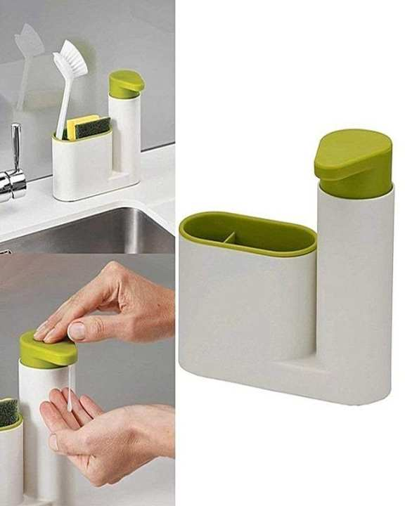 2 In 1 Sink Tidy Set Stand For Kitchen & Bathroom