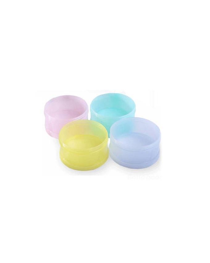 Multi Compartment Milk Powder Dispenser - Multicolor