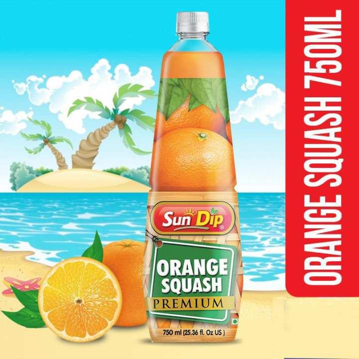 Orange Squash 750Ml