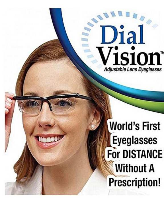 Adjustable Eye Lens Glasses Nearsighted Dial Vision Reader