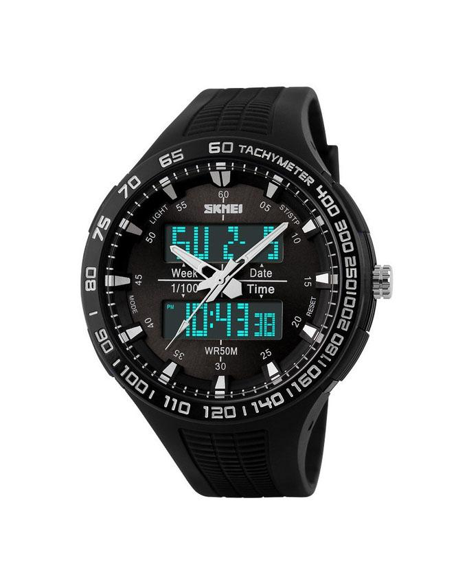 Children's Watches Charitable New Skmei Brand Watch Solar Energy Men Electronic Sports Watches Multifunctional Outdoor Water Resistant Digital Wristwatches