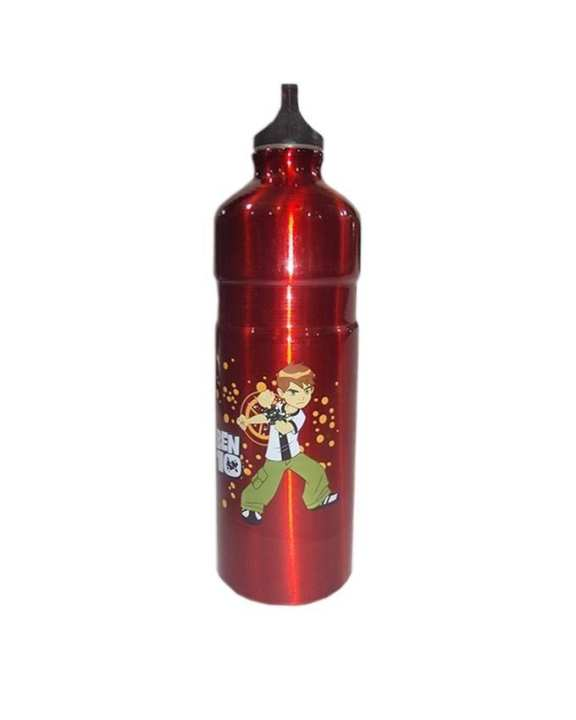 Metal Water Bottle - Red