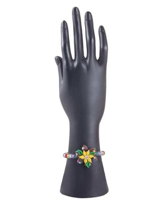 Multi Color Metal Hand Made Fancy Bangle for Women - RIZ-BRC-33