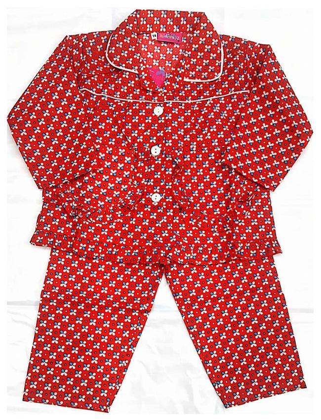 Baby Girl Pure Cotton Night suit