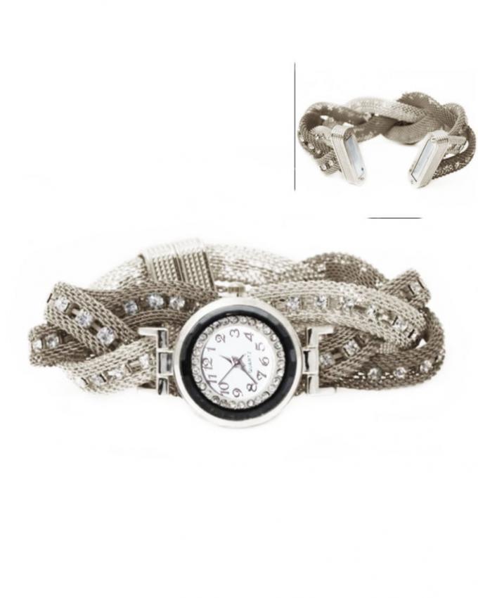Bracelet Watch for Women - Silver