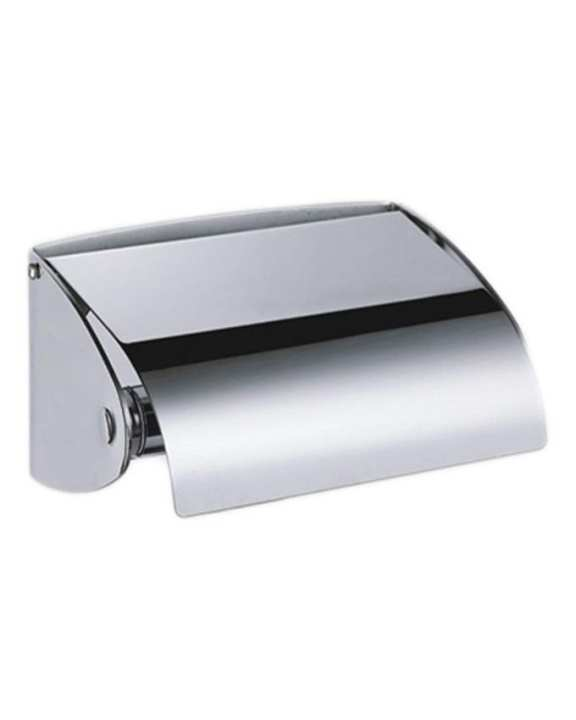 Toilet Roll Paper Holder - Silver