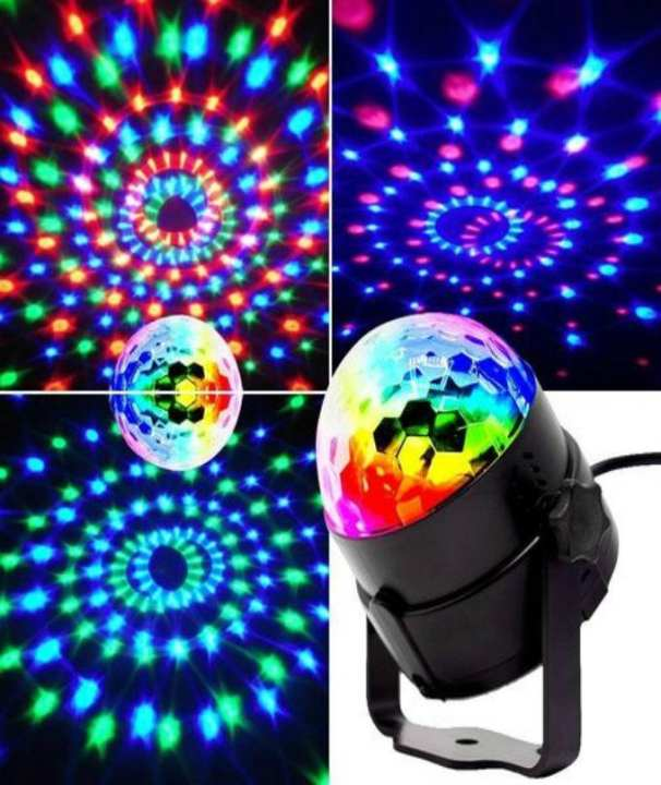 Rotatory LED Disco Party Light Bulb