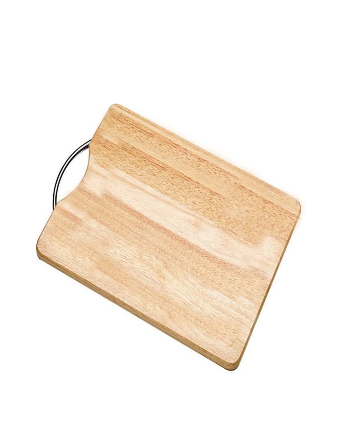 Bamboo Food Cutting & Chopping Board - Medium - Brown