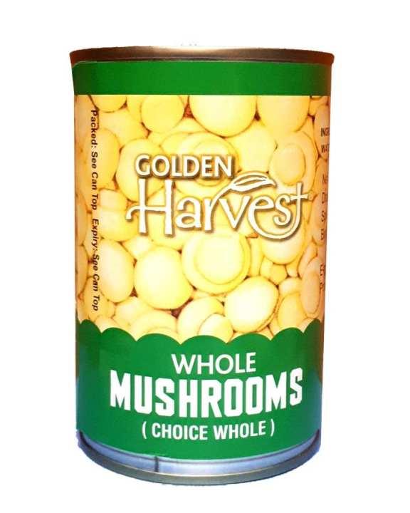 Whole Mushrooms 400 Grams Tin (Choice Whole)