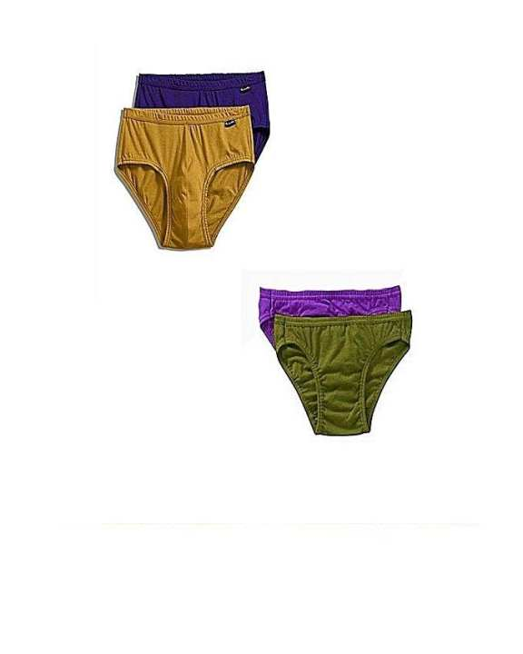 Pack of 4 - Multicolour Cotton Brief Innerwear for Men