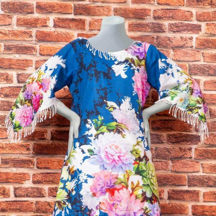 Eminent Digital Printed Khaddar Unstitched Winter Kurti - Bloom Bunch by Chase Value Centre
