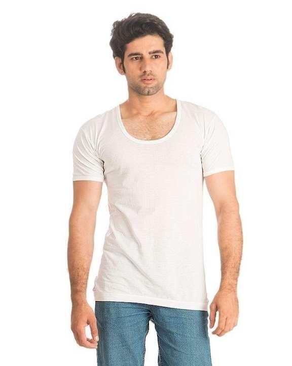 Pack of 3 - White - Cotton - Vest For Men