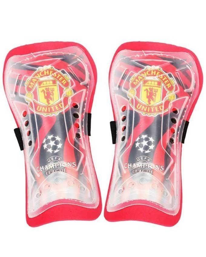 Manchester United Shin Guards - Red