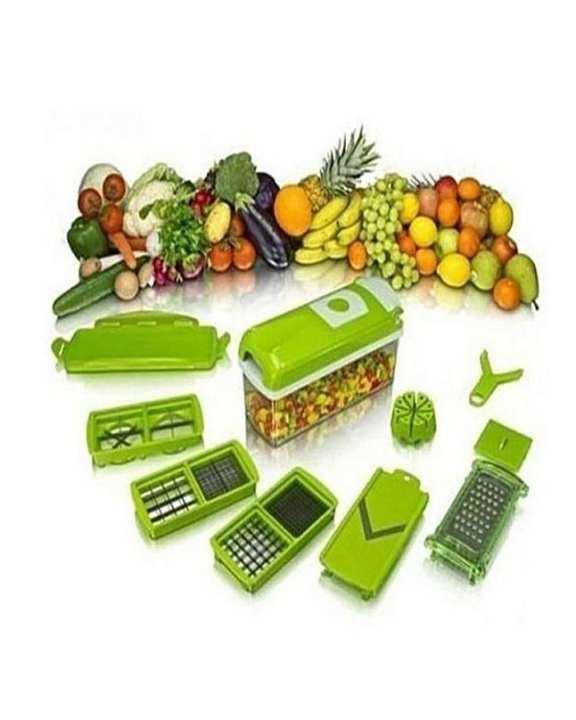 Nicer Dicer Plus Vegetable Salad Fruit Cutter