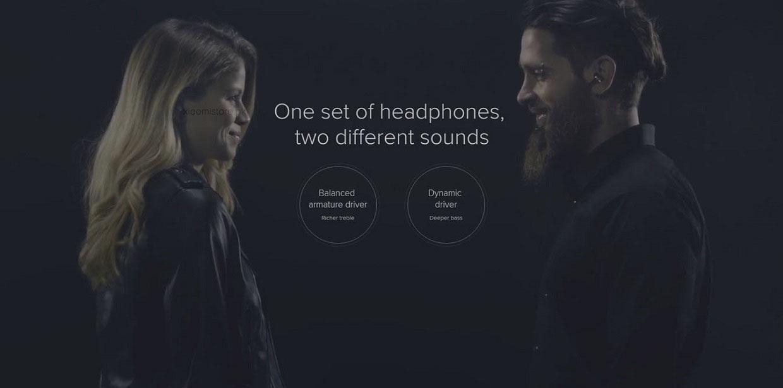 Xiaomi Hybrid MI IV in-ear Earphones Pro Dual Drivers