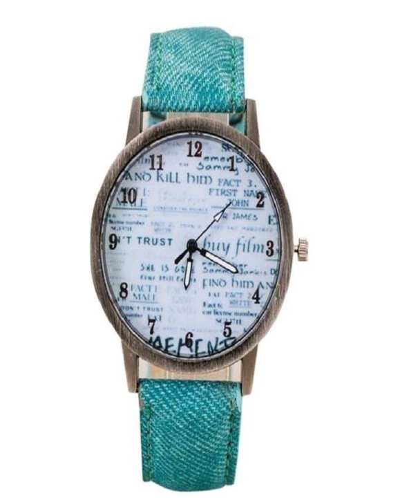 Denim Strap Watch for Men