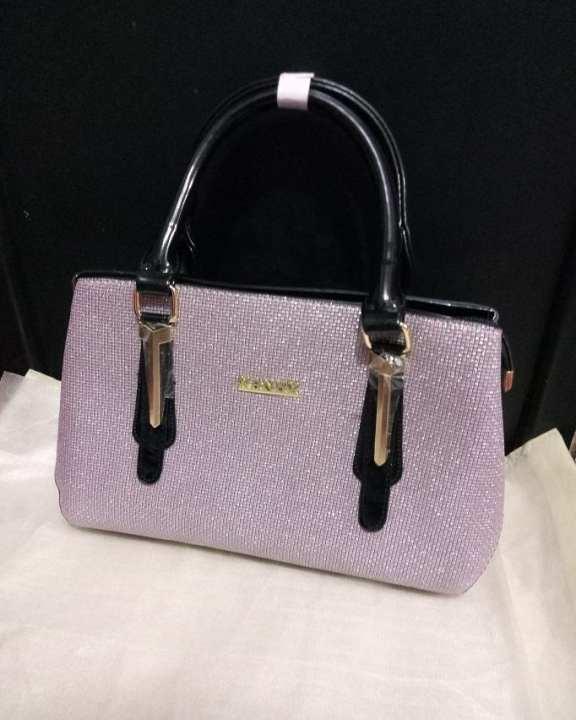 Ladies Fancy Hand Bag - Silver