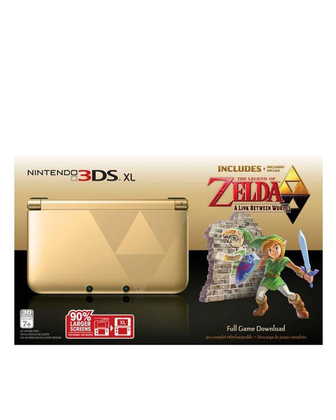 3DS XL - The Legend Of Zelda A Link Between World - Golden