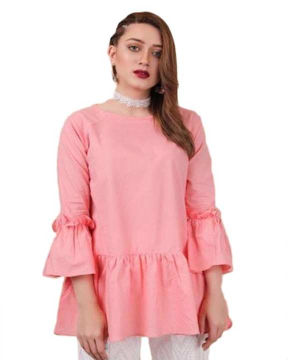 Pink Cotton Kurta For womens