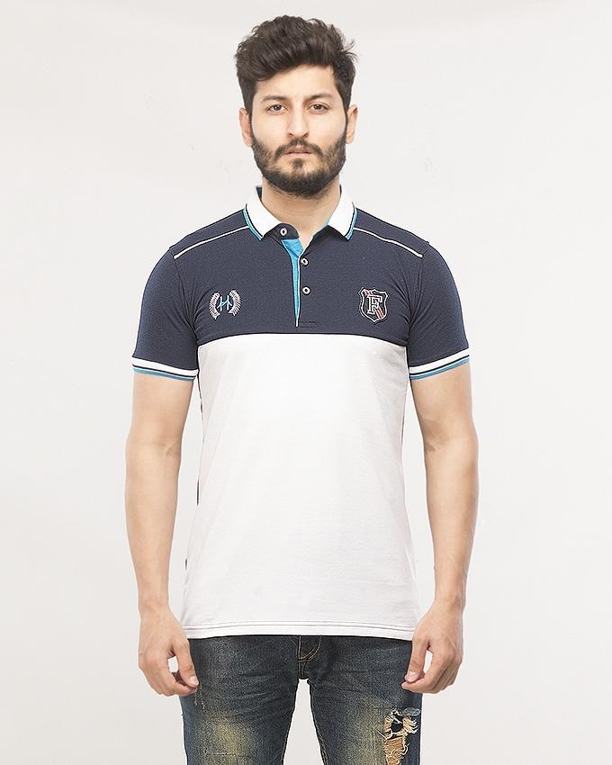 5d2c43abc7e8ec Navy Smart Fit T Shirt Men