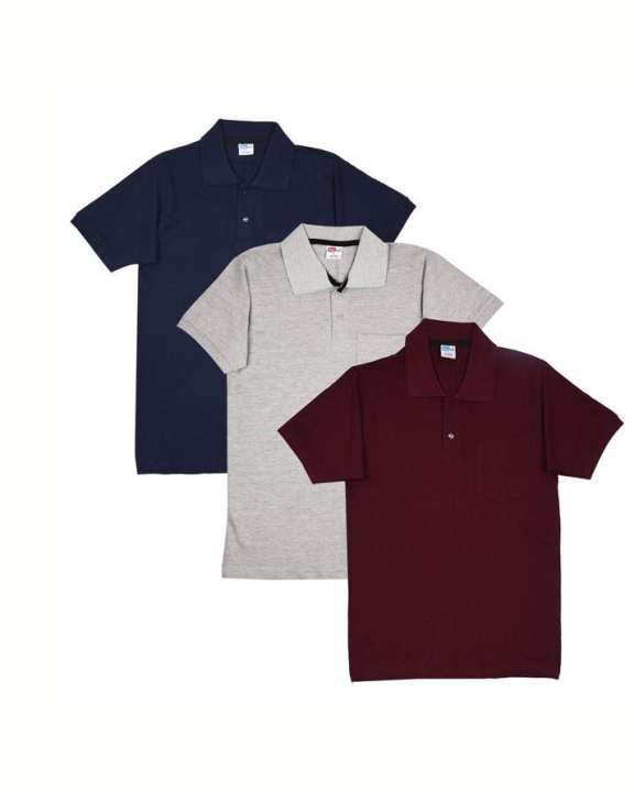 Quality Pack of 3 Men Polo