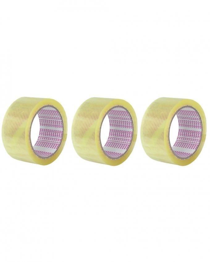 Pack of 3 - Carton Sealing Tape - Transparent