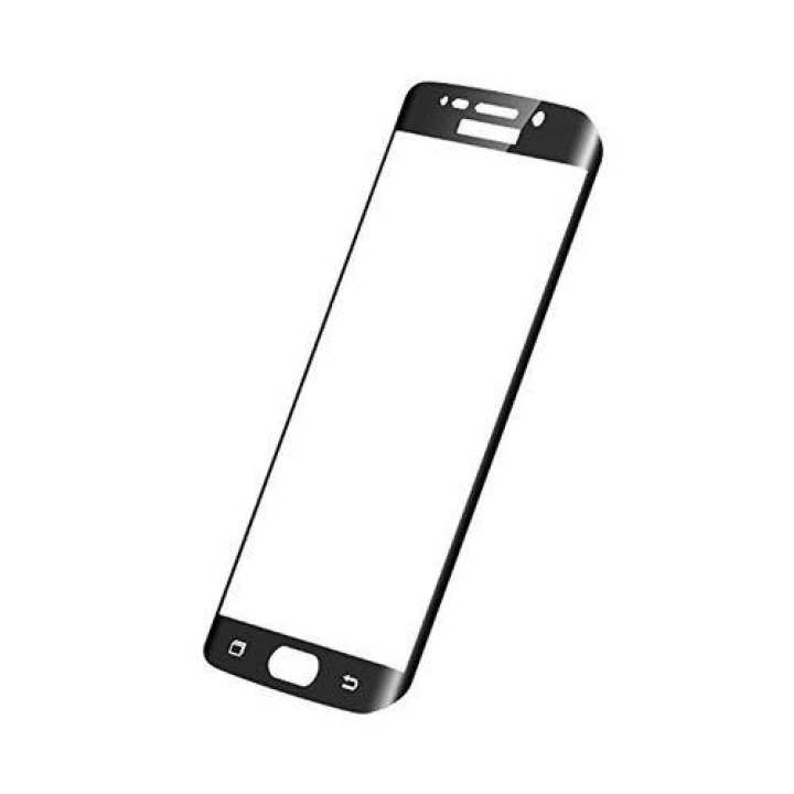 Tempered Glass Protector For Huwei P9Lite- Black