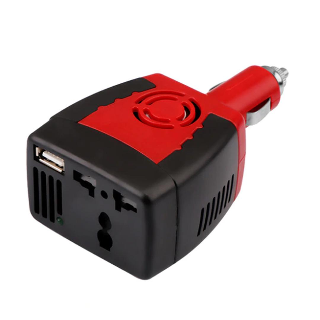 Power Inverter DC To AC 12V To 220V Car Voltage Converter