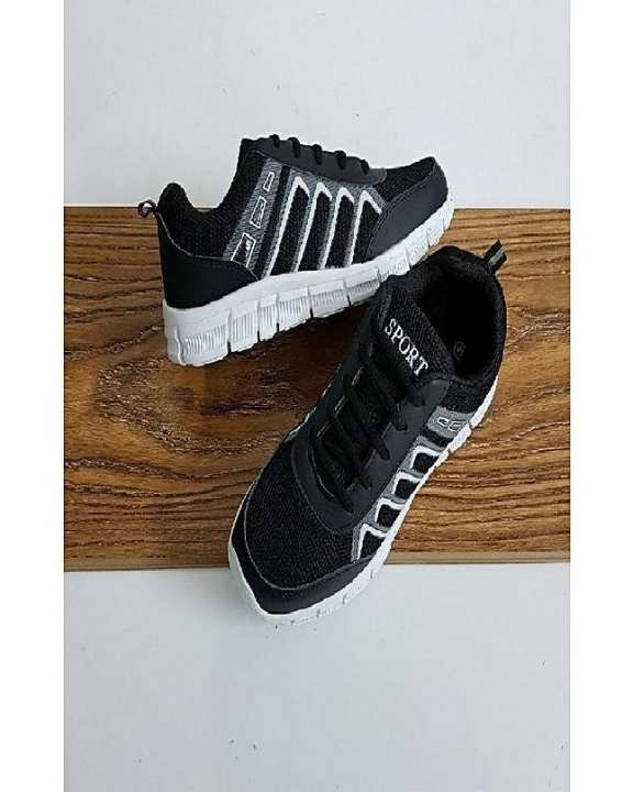 Black Sports Running Shoes For Men