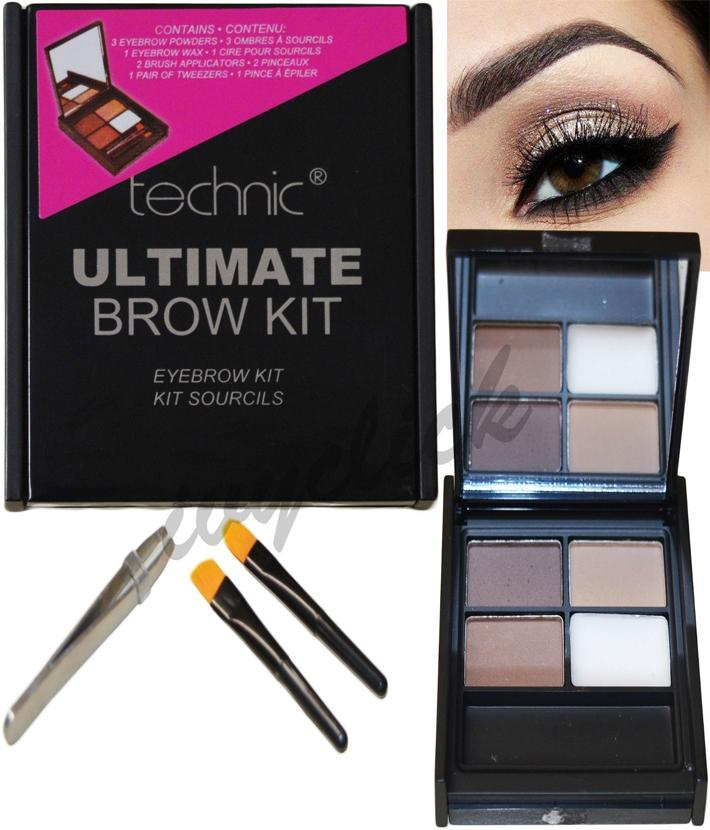 Technic Ultimate Brow Kit Eyebrow Kit Buy Online At Best Prices In