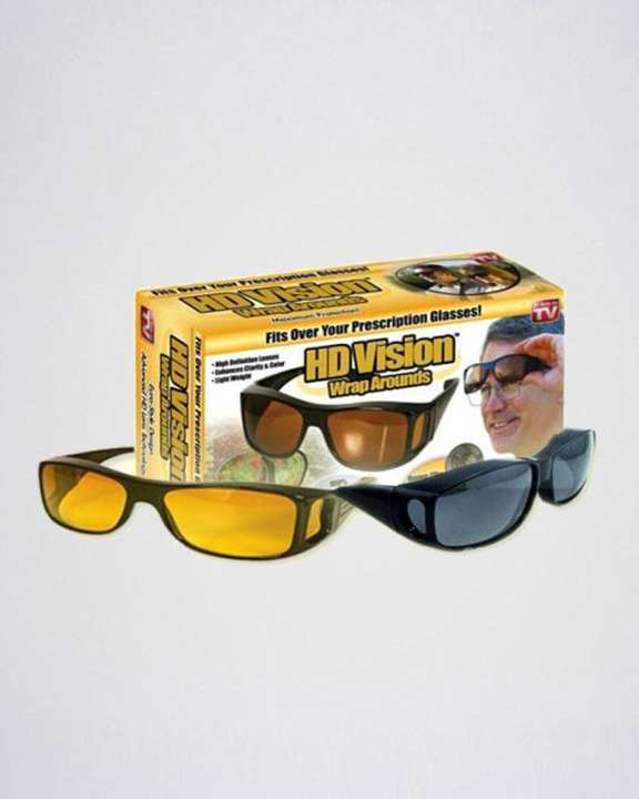 Pack of 2 - HD Night Vision & Day Glasses
