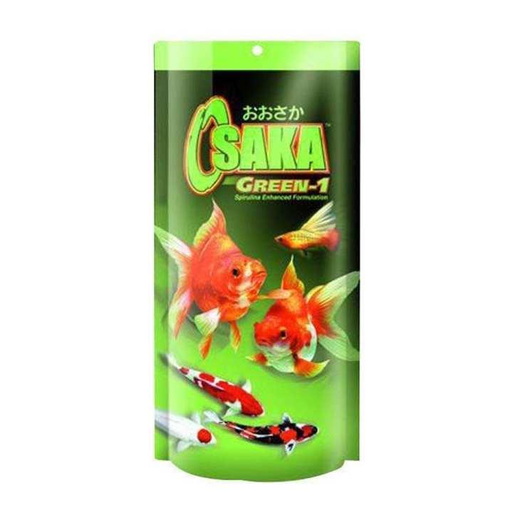 OSAKA GREEN 200 GRAM - AQUARIUM FISH FOOD IMPORTED - FAST GROWTH AND DARK COLOR