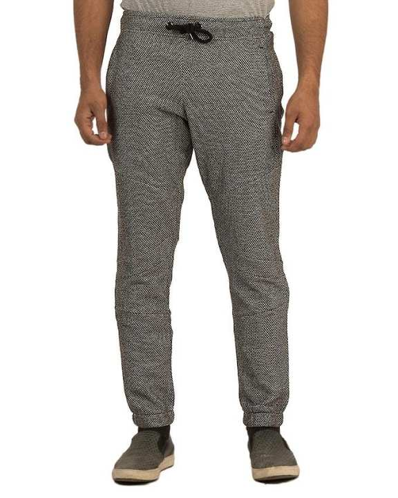 Grey Cotton Iconic Skinny Sweat Pant For Men