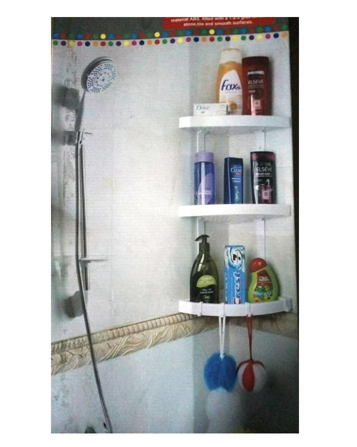 3 Layer Bathroom Corner Rack Buy Online At Best Prices In Pakistan Daraz Pk