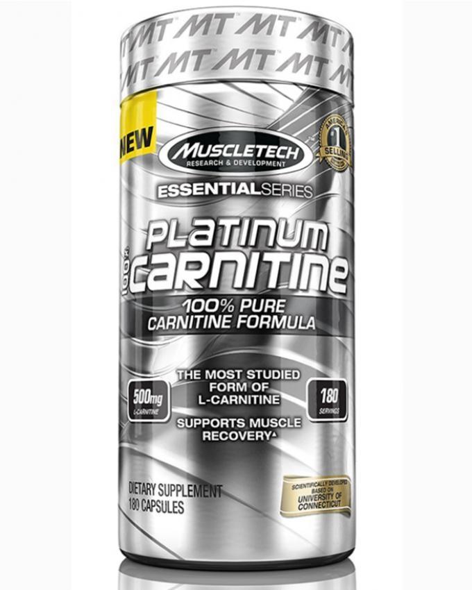 Platinum 100% Carnitine - 180 Servings