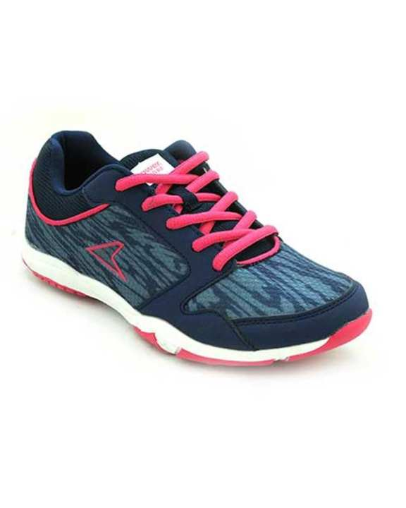 Power Dark Blue Ethlete Synthetic TPR Casual Shoes for women