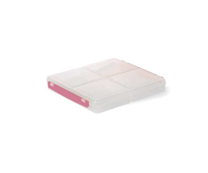Four Compartments Square Food Storage Container 9 x 9 Inches