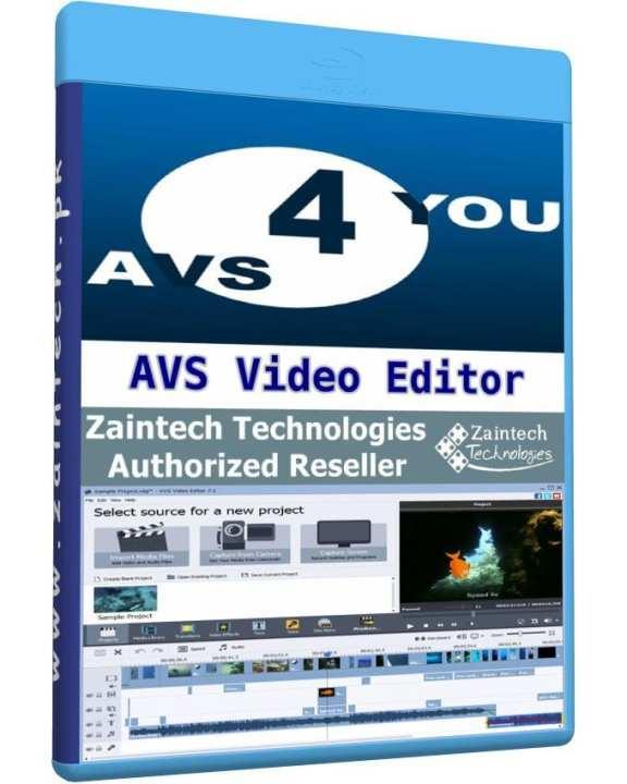 AVS Video Editor - 1 PC Lifetime License