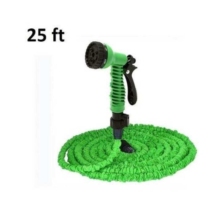 Magic 7 Function Hose Pipe For Garden / Car Wash - 25 Ft