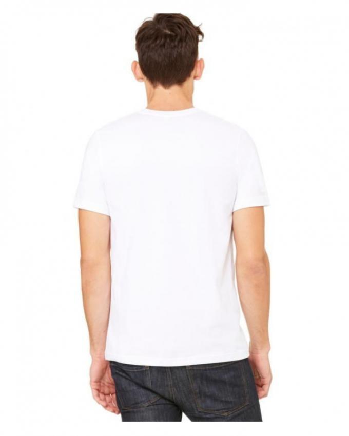 Men Cotton Short Sleeve T-Shirt White