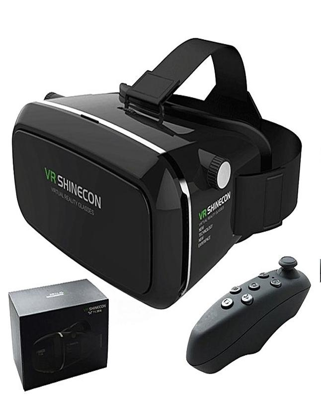 1dcfc0472a0d Hot Vr Shinecon Virtual Reality 3D Glasses Vr Box With Remote