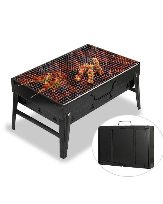 Portable Camping Picnic Charcoal Barbecue BBQ Grill
