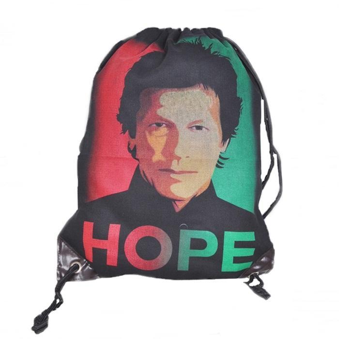 Pti Imran Khan Printed Gym/Training/Shoes/Soccer Bag For Boys
