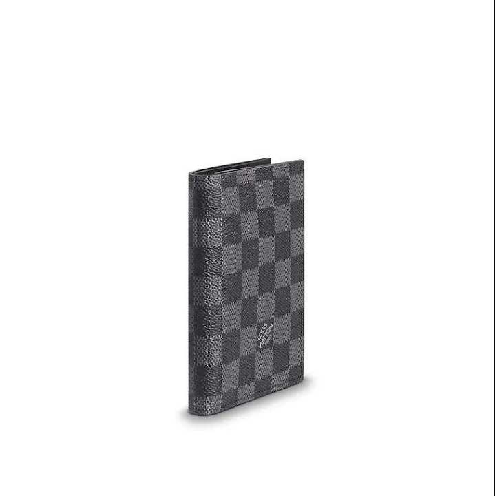 Louis Vuitton Grey Passport  Cover Wallet