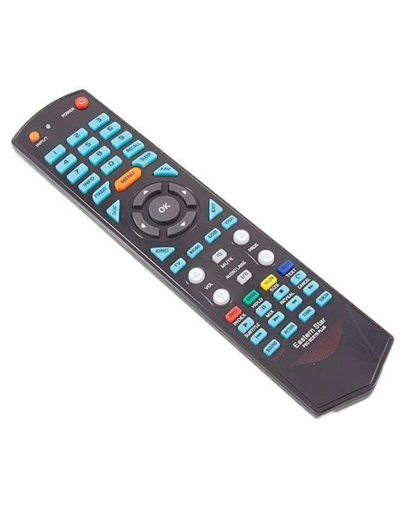 Universal Remote For Eco Star LED & LCD TV - Black