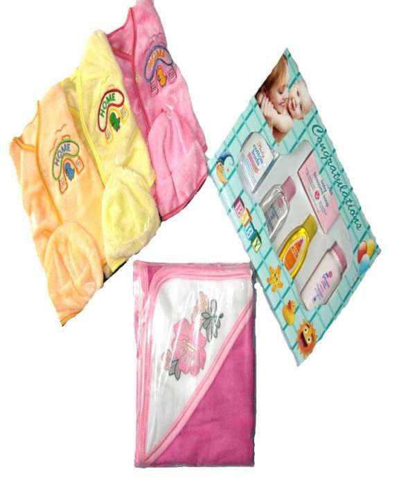 3 in 1 - New Born Baby Products - Buy 1 Get 2 Free